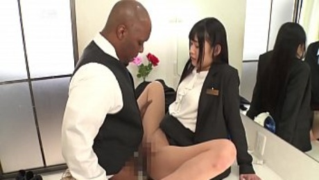 Japanese employees are happy to serve Black foreigners
